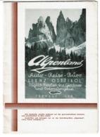 Autriche / Austria / Alpenland - Auto-Reise-Büro - LIENZ OSTTIROL - 5 Scans - Dépliants Touristiques