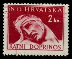 KROATIEN ZWANGSZL Nr 4 Postfrisch X925632 - Croatie
