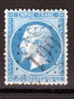 LOSANGE GC 661 Bruyère-en-Vosges Sur NAPOLEON N°22 / DISPERSION D'UNE COLLECTION!! - 1862 Napoléon III