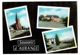 Souvenir D'Aubange - Frontière Franco-Belge - Edit. E. Bies-Reyter - Carte Multi-vues - 2 Scans - Aubange