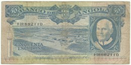 Angola - 50 Escudos - 10.06.1962 - Pick 93 - Série 8 DR - Américo Tomás - PORTUGAL - Angola