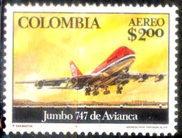 630  Boeing 747 - Colombia Yv A 602 - Hinged - Free Shipping - 1,25 - Avions