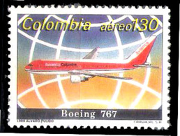 630  Boeing 767 - Colombia Yv A 802 - Hinged - Free Shipping - 1,50 - Avions