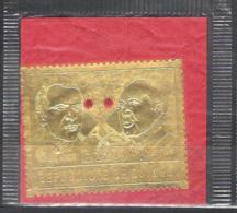 18615  Mao Tse Tung - R. Nixon - Rep Guinea - MNH - 9,75  Sb - Mao Tse-Tung