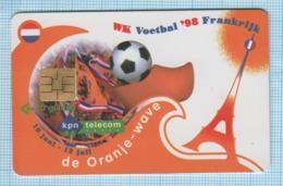 Netherlands / Phonecard / Phone Card / Football. World Cup 98. France. Eiffel Tower. 1998 - Sport