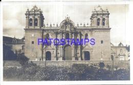 121132 PERU AREQUIPA CALLE MERCADERES  & CHURCH IGLESIA POSTAL POSTCARD - Peru