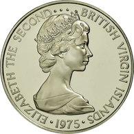 Monnaie, BRITISH VIRGIN ISLANDS, Elizabeth II, 50 Cents, 1975, Franklin Mint - Iles Vièrges Britanniques