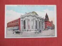 -West Branch National Bank Williamsport    Pennsylvania     Ref   3659 - United States