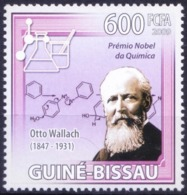 Nobel Chemistry Winner Otto Wallach, Guinea Bissau 2009 MNH  ( - Nobelpreisträger