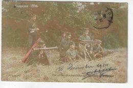Guerre 1914 - Une Section De Mitrailleuse Aux Environs De La Bassée - 1914 (W178) - Guerra 1914-18