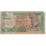 Billet, Sri Lanka, 10 Rupees, 1992, 1992-07-01, KM:102b, AB - Sri Lanka