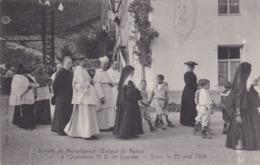 Arrivée De Monseigneur L'Evêque De Namur à L'Orphelinat ND De Lourdes - Yvoir, Le 22 Août 1908 - CAD Gent - Yvoir