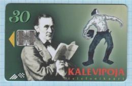 Estonia  / Phonecard / Phone Card / Folklore. Epos Kalevipoeg. Writer Friedrich Reinhold Kreutzwald 1997 - Estland