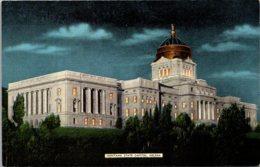 Montana Helena State Capitol Building At Night - Helena