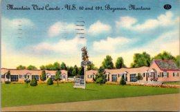 Montana Bozeman Mountain View Courts 1949 - Bozeman