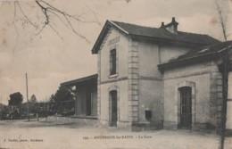 G9-33) ANDERNOS LES BAINS (GIRONDE) LA GARE - (2 SCANS) - Andernos-les-Bains