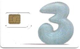 @+ Carte GSM - SIM : UK - 3 - Hutchison - Royaume-Uni