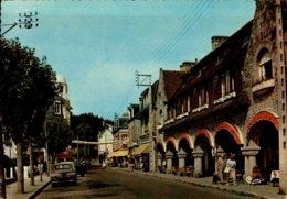 22-ST-CAST...RUE DU DUC D'AIGUILLON AVEC COMMERCES,VOITURES....CPSM GRAND FORMAT ANIMEE - Saint-Cast-le-Guildo