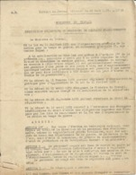 Réquisition Collective Du Personnel De Certains Etablissements - Tours 15 Sept 1939 - Lieut Col Calamel Chef Du Génie - 1939-45