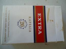 GREECE USED EMPTY CIGARETTES BOXES  EXTRA KARELIA KARELIAS - Contenitori Di Tabacco (vuoti)