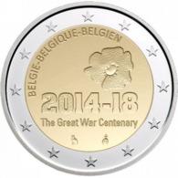 Belgie 2014 - 2 Euro - 2014-18 (100 Jaar 1914-1918) - Belgien