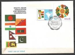 PAKISTAN 1985 FDC SOUTH ASIAN ASSOCIATION FOR REGIONAL COOPERATION - Pakistan