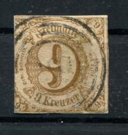 Thurn Und Taxis: 9 Kr. MiNr. 34 1862-1864 Gestempelt / Used / Oblitéré - Thurn En Taxis