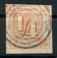 Thurn Und Taxis: 1/4 Sgr. MiNr. 13 1859-1861 Gestempelt / Used / Oblitéré - Thurn En Taxis