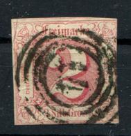 Thurn Und Taxis: 2 Sgr. MiNr. 16 1859-1861 Gestempelt / Used / Oblitéré - Thurn En Taxis