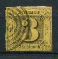 Thurn Und Taxis: 3 Sgr. MiNr. 6 1852-1858 Gestempelt / Used / Oblitéré - Thurn En Taxis