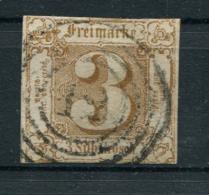 Thurn Und Taxis: 3 Sgr. MiNr. 31 1862-1864 Gestempelt / Used / Oblitéré - Thurn En Taxis