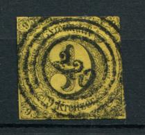 Thurn Und Taxis: 9 Kr. MiNr. 9 1852-1858 Gestempelt / Used / Oblitéré - Thurn En Taxis