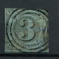 Thurn Und Taxis: 3 Kr. MiNr. 12 1853 Gestempelt / Used / Oblitéré - Thurn En Taxis