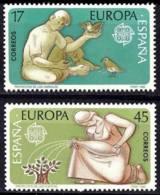España. Spain. 1986. EUROPA Cept. Naturaleza. Medio Ambiente - Protección Del Medio Ambiente Y Del Clima