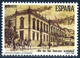 España. Spain. 1986. Fuerzas Armadas. Capitania General De Canarias - Militares