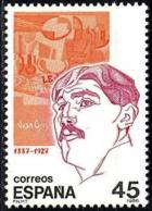 España. Spain. 1986. Personajes. Juan Gris. Pintor - Arte