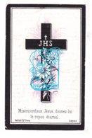 DP Joannes F. David Blondeau / Van Schoor ° 1806 † Antwerpen 1883 X Maria Th. Huens - Devotion Images
