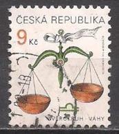 Tschechien  (1999)  Mi.Nr.  217  Gest. / Used  (9fi55) - Tschechische Republik