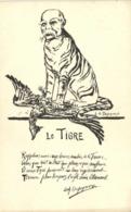 Militaria Satirique L A Dupeyroux Le TIGRE  RV - Patriottiche