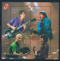 ÖSTERREICH Mi.Nr.Block  21 Musik,  Rolling Stones- Used - Blocks & Kleinbögen