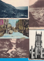 LOT DE 5 CARTES POSTALES DE L'AIN CULOZ BELLEGARDE BELLEY - France
