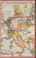 Karte Des Kriegsschauplatzes - Guerre 1914-18