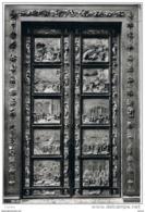 FIRENZE:  BATTISTERO  DI  S. GIOVANNI  -  SECONDA  PORTA  DI  BRONZO  -  FOTO  -  PER  LA  SVIZZERA  -  FG - Quadri, Vetrate E Statue