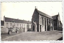 Carte Postale 62.  Equihen école Des Filles Et Le Calvaire  Trés Beau Plan - Non Classificati