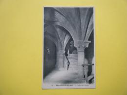 LE MONT SAINT MICHEL. L'Abbaye. Le Cachot Du Diable. - Le Mont Saint Michel