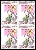 España. Spain. 1987. B4. Festival Folklorico De Los Pirineos. Jaca - 1931-Hoy: 2ª República - ... Juan Carlos I