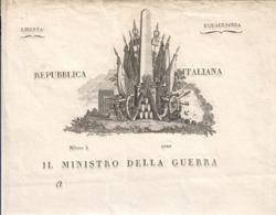 Napoleone I° Repubblica Italiana  Non Emesso COD Bu.269 - Decrees & Laws