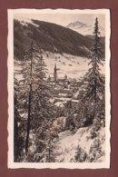 Graubünden - DAVOS - Blick Aus Dem Schatzalp Wald - GR Graubünden