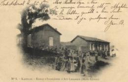 KABYLIE  ECOLE D'INDIGENES D'AIT LHASSES  (BENNI YENNI ) RV - Algerije