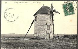CPA 1907 - CAMP MILITAIRE DE CHALONS, LE VIEUX MOULIN - - Camp De Châlons - Mourmelon